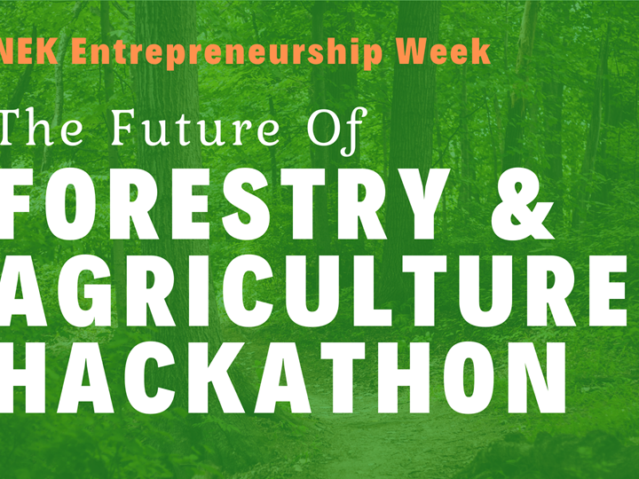 The Future of Forestry & Agriculture Hackathon